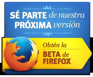 Descargar Firefox Beta