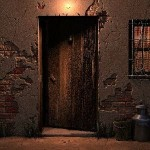 puerta misteriosa