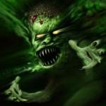 Imagen sobre la leyenda del demonio ladron